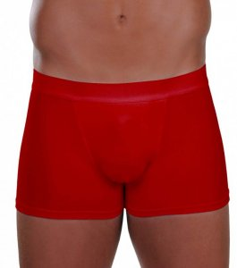 Lord External Rubber Boxer Brief Underwear Red 1754