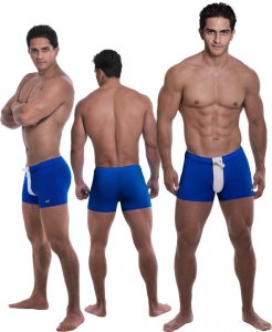 Falocco Collection Capri Trunk Swimwear Blue