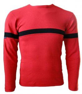 Lord Contrast Stripe Long Sleeved T Shirt 520