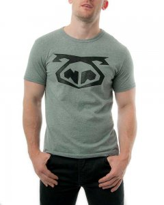 Nasty Pig Brandmark Big Logo Short Sleeved T Shirt Grey F16 ...
