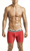 MaleBasics Comfort Boxer Brief Underwear Red MB002