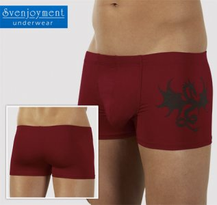 Svenjoyment Dragon Wonder Boxer Brief Underwear Red 2131013