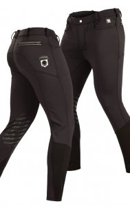 Litex Equestrian Riding Breeches Pants Black J1202