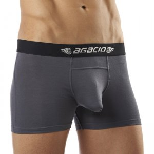 Agacio Basics Boxer Brief Underwear Grey 5900