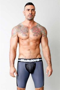 CellBlock 13 G-Force Long Boxer Brief Underwear Black CBS001