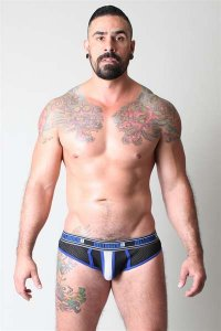 CellBlock 13 Alpha Brief Brief Underwear Blue CBU049