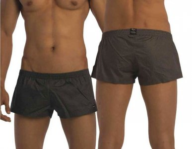Groovin Summer Cotton Loose Boxer Shorts Underwear Grey