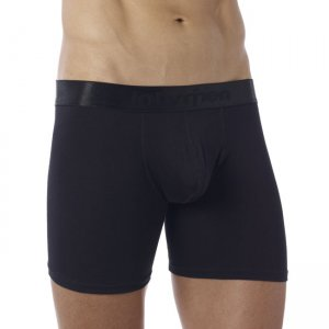 Intymen Butt Boost Boxer Brief Underwear Black 855