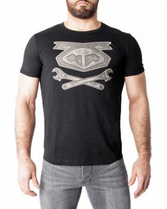 Nasty Pig Wrench Logo Short Sleeved T Shirt