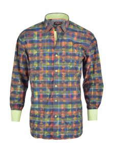 Spazio Sayen Long Sleeved Shirt Multi 43-1575