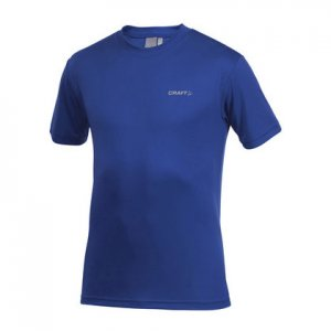 Craft Active Run Short Sleeved T Shirt Olympia Blue 199205