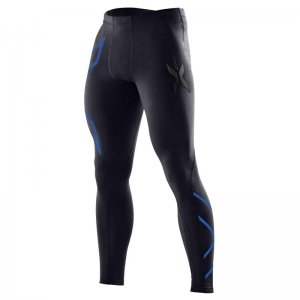 2XU XForm Compression Tights Pants Blue MA1967B