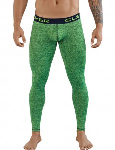 Clever Aster Long Johns Long Underwear Pants Green 0312