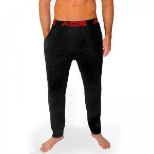 AQS Unisex Pants Loungewear Black/Red PBR