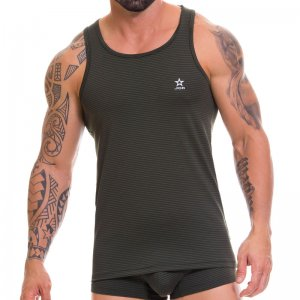 Jor KABALA Tank Top T Shirt Green 0461