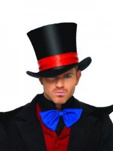Leg Avenue Velvet Top Hat 2143