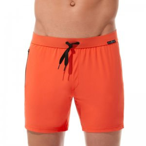 Gregg Homme EXOTIC Loose Boxer Shorts Underwear Orange 161255