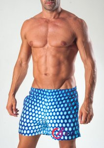 Geronimo Shorts Swimwear Blue 1535P1-0