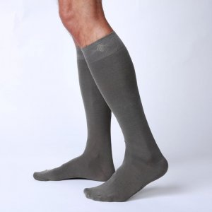 Bonne Cle Gentlemen's Club Carter High Knee Socks Khaki