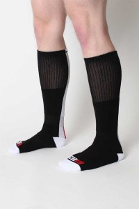 CellBlock 13 Racer Socks Black A020
