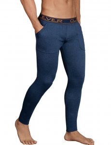 Clever Cale Athletic Pants Dark Blue 0317