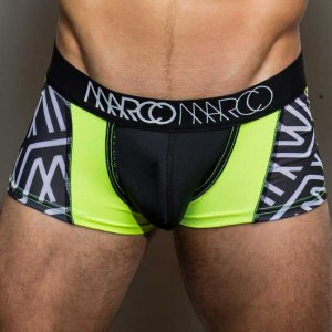 Marco Marco Jesse Boxer Brief Underwear Black/Green/White