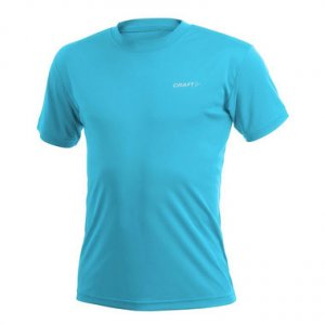 Craft Active Run Short Sleeved T Shirt Arctic Blue 199205
