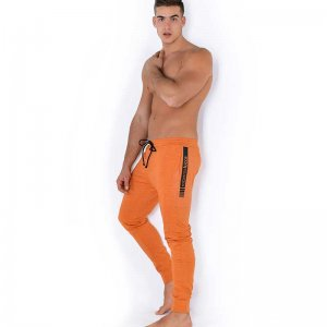 Roberto Lucca Slim Fit Sweat Pants Orange Melange 80264-01222