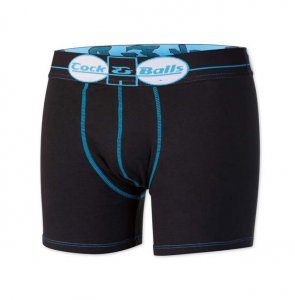 Cock&Balls Nakanis Boxer Brief Underwear Black 10005