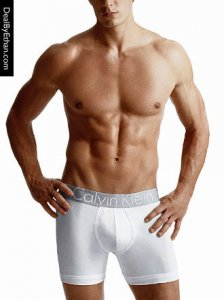 Calvin Klein Steel Cotton Pouch Boxer Brief Underwear White U2708-100
