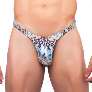 Joe Snyder Rio Thong 11 Snake Underwear & Swimwear