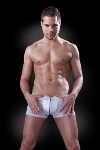 Pipedream Fetish Fantasy Male Boxer Brief Underwear White PD474000 USA3