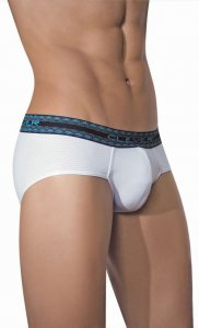 Clever Energizer Microfiber Brief White Underwear 5023 USA1