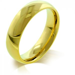 J. Goodin 5mm IPG Gold Stainless Steel Band Ring R08038GV-V00