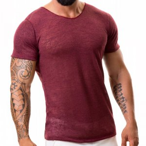Jor Maui Tank Top T Shirt Red Wine 0370