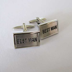 Distino Of Melbourne Novelty Best Man II Cufflinks CBESTMANII