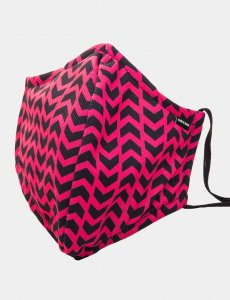 Barcode Berlin Colonel Liam Function Unisex Mask Pink/Black ...