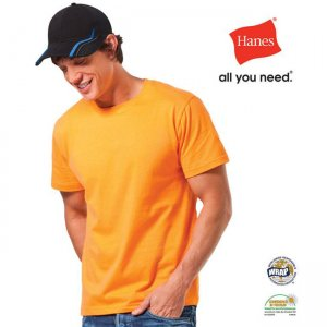 Hanes Heavyweight Short Sleeved T Shirt AU2100