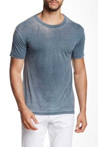 Mr.Swim The Casual Short Sleeved T Shirt Burnout Charcoal