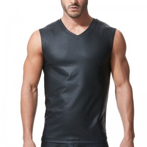 Gregg Homme CRAVE Muscle Top T Shirt Black 152622