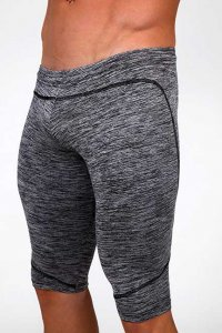 Pistol Pete Sportek Legging 3/4 Pants Grey LG102-200
