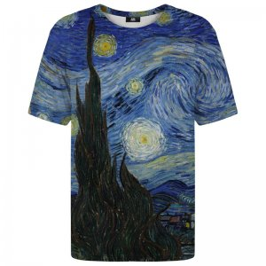Mr. Gugu & Miss Go The Starry Night Unisex Short Sleeved T Shirt TSH1253