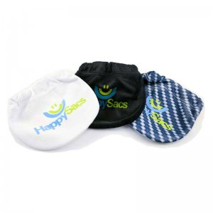 HappySacs [3 Pack] 2.0 Combo Pouch Underwear White & Black &...