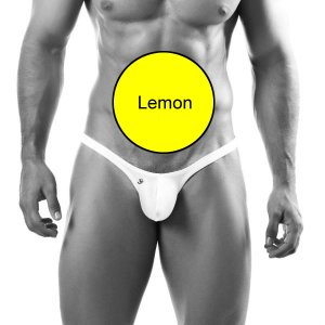 Clearance Joe Snyder Bulge Thong BUL02 Lemon Underwear & Swimwear