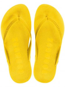 Boombuz Taiga Basic Naked Flip Flop Slippers Yellow