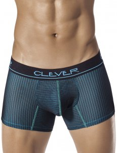 Clever Sexquares Boxer Brief Underwear Black 2267