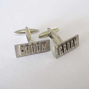 Distino Of Melbourne Novelty Groom Cufflinks CGROOM