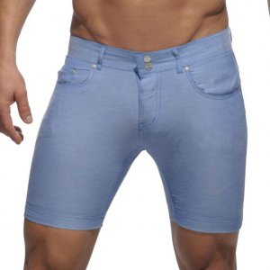 Addicted Cotton Blend Shorts Royal Blue AD247 0c6ad05ab6f0f