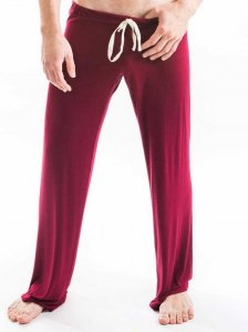 N2N Bodywear Lounge Pants Burgundy L1