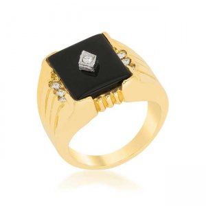 J. Goodin Black Onyx Ring R08397T-C03